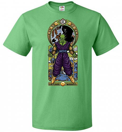 Namekian Warrior Unisex T-Shirt Pop Culture Graphic Tee (S/Kelly) Humor Funny Nerdy G