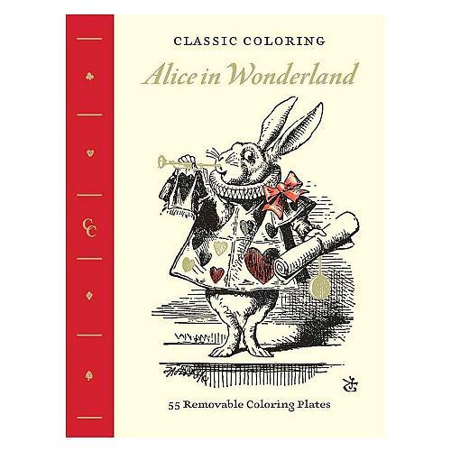 :10952U - Alice In Wonderland Adult Coloring Book