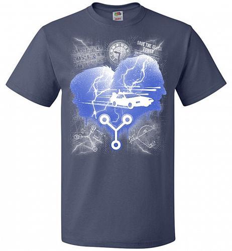 Who Needs Roads Unisex T-Shirt Pop Culture Graphic Tee (XL/Denim) Humor Funny Nerdy G