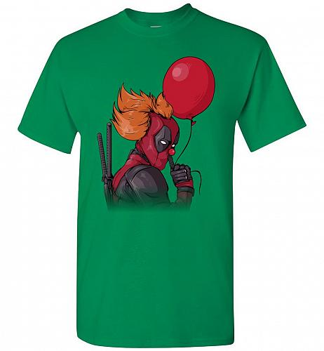 IT is Deadpool Unisex T-Shirt Pop Culture Graphic Tee (2XL/Turf Green) Humor Funny Ne