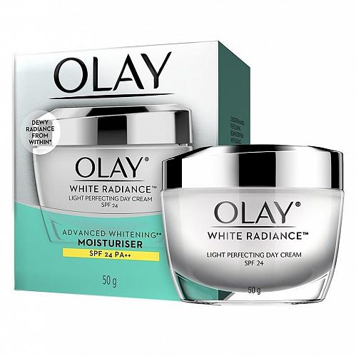 Olay White Radiance Light Perfecting Day Cream SPF 24 50 grams