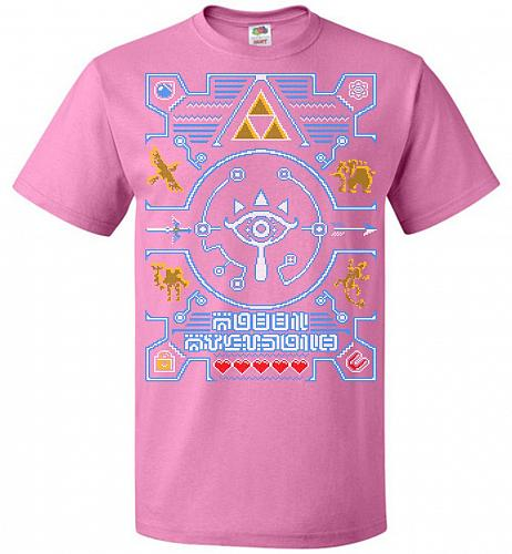 Legend Of Zelda Ugly Sweater Design Adult Unisex T-Shirt Pop Culture Graphic Tee (M/A