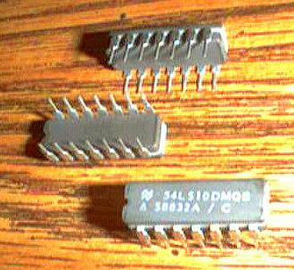 Lot of 11: National Semiconductor 54LS10DMQB