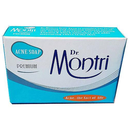 Dr. Montri Anti Acne Oil Control Moisturizing Cleansing Soap 70 grams