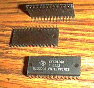 Lot of 13: Texas Instruments CF40102N