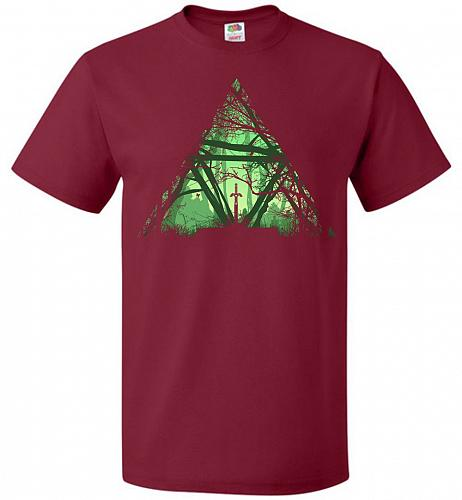 Treeforce Unisex T-Shirt Pop Culture Graphic Tee (2XL/Cardinal) Humor Funny Nerdy Gee