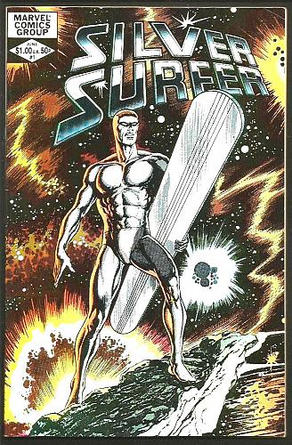 SILVER SURFER #1 VF+ JOHN BYRNE double-sized one shot GUARDIANS OF THE GALAXY