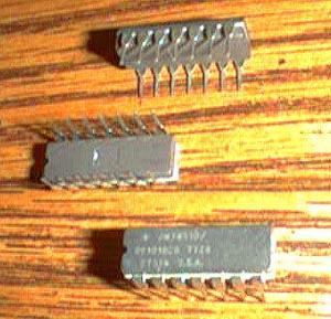 Lot of 13: National Semiconductor JM38510/05101BCB
