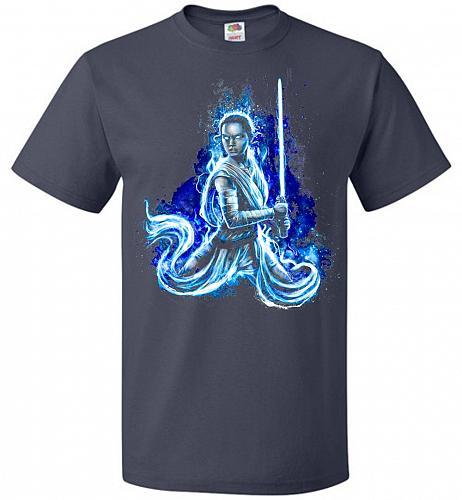 Awaken Unisex T-Shirt Pop Culture Graphic Tee (2XL/J Navy) Humor Funny Nerdy Geeky Sh