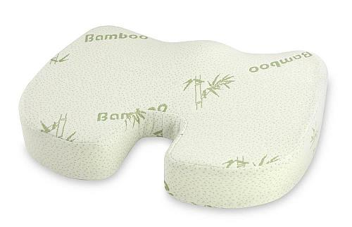 :10908U - Bamboo Fiber Cover Memory Foam Seat Cushion Support Comfort