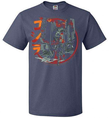 Path Of Destruction Unisex T-Shirt Pop Culture Graphic Tee (6XL/Denim) Humor Funny Ne