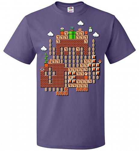 Legend Maker Unisex T-Shirt Pop Culture Graphic Tee (5XL/Purple) Humor Funny Nerdy Ge