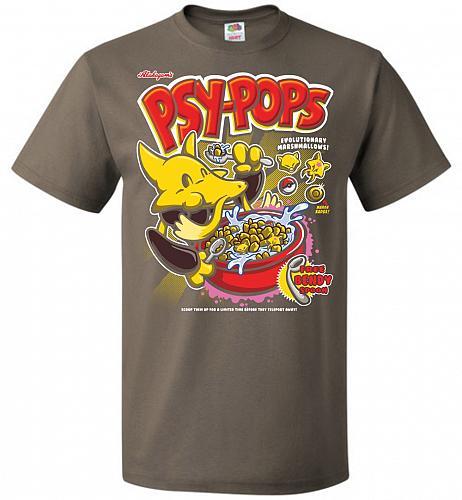 Alakagam's Psy-Pops Unisex T-Shirt Pop Culture Graphic Tee (S/Safari) Humor Funny Ner