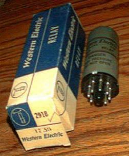 Western Electric 291B Relay
