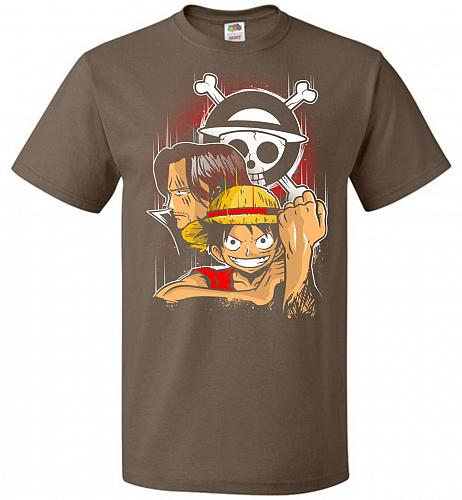 Pirate King Unisex T-Shirt Pop Culture Graphic Tee (6XL/Chocolate) Humor Funny Nerdy