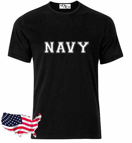Navy T Shirt USAF Air Force US Army Marines USMC Military Physical Training GD