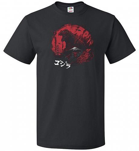 Zillageddon Unisex T-Shirt Pop Culture Graphic Tee (5XL/Black) Humor Funny Nerdy Geek