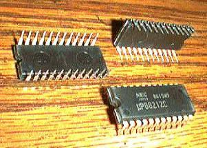Lot of 10: NEC UPB8212C