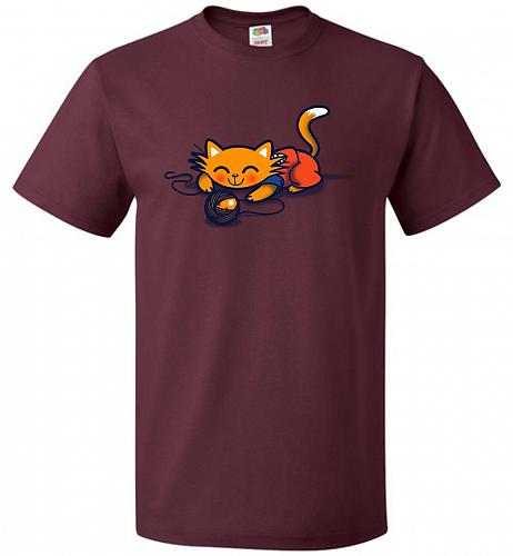 A Surprise Unisex T-Shirt Pop Culture Graphic Tee (XL/Maroon) Humor Funny Nerdy Geeky
