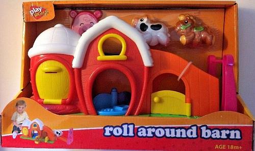 NEW Play Right ROLL AROUND BARN for Ages 18 Months and Up NEW in BOX