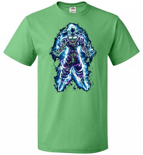Piccolo Unisex T-Shirt Pop Culture Graphic Tee (4XL/Kelly) Humor Funny Nerdy Geeky Sh