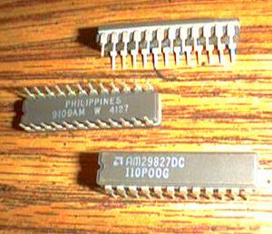 Lot of 15: AMD AM29827DC