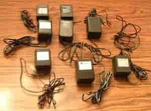 LOT: Chargers, Power Supplies and Transformers