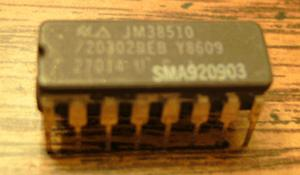 National Semiconductor JM38510/20302BEB