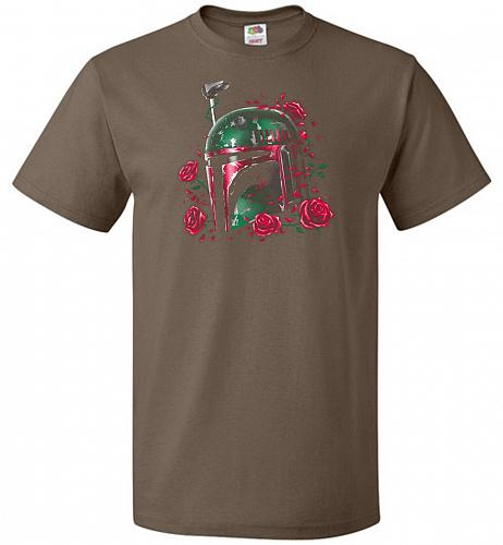 Phantom Of The Empire Fett Unisex T-Shirt Pop Culture Graphic Tee (3XL/Chocolate) Hum