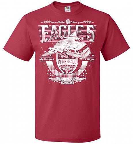 Eagle 5 Hyperactive Winnebago Unisex T-Shirt Pop Culture Graphic Tee (5XL/True Red) H