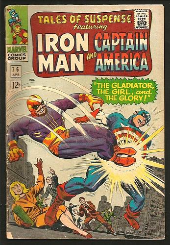 Tales of Suspense #76 Capt America & IronMan STAN LEE JOHN ROMITA 1966 1stSeries