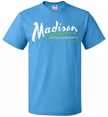 Billy Madison Hotels & Resorts Adult Unisex T-Shirt Pop Culture Graphic Tee (4XL/Paci