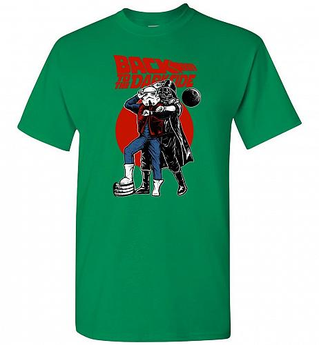 Back To The Darkside Star Wars Back To The Future Mashup Unisex T-Shirt Pop Culture G