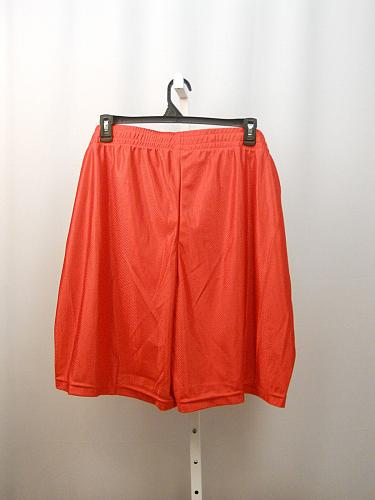 Mens Big Tall DAZZLE Shorts SIZE 3XL 48-50 Solid Red Inseam 10 Flat Front Straig