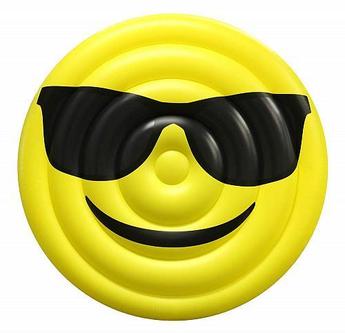 :10682U - Sunglasses Emo-Gee Giant Yellow Inflatable Pool Float