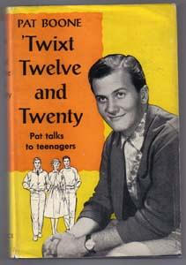 Twixt Twelve and Twenty :: 1958 Pat Boone HB w/ DJ