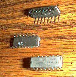 Lot of 6: Texas Instruments SNJ54LS151J