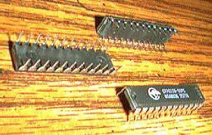 Lot of 6: Cypress CY7C128-55PC