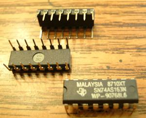 Lot of 30: Texas Instruments SN74AS163N