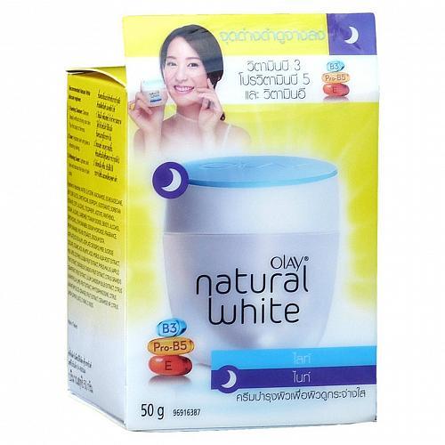Olay Natural White Light Night Cream 50 grams