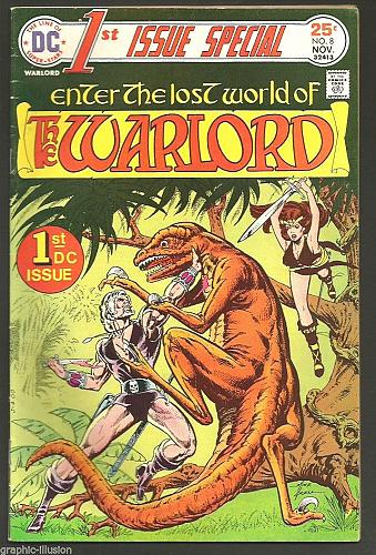 "Title: ""1st Issue Special"" #8 KEY 1st WARLORD -- DC COMICS 1975 Fine or better"
