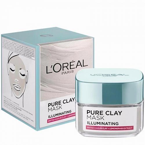 L'Oreal Paris Pure Clay Illuminating Mask 50 grams