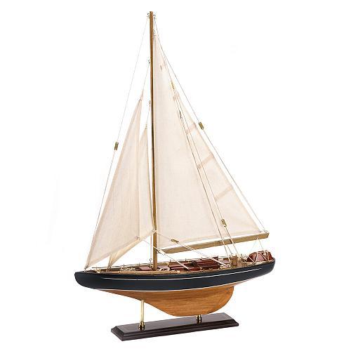 14749U - Bermuda Tall Ship Model Wood Cotton Canvas