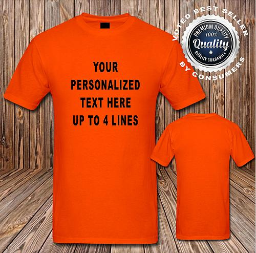 Custom Logo T Shirt Your Design Your Text Only Here Lot 1320#