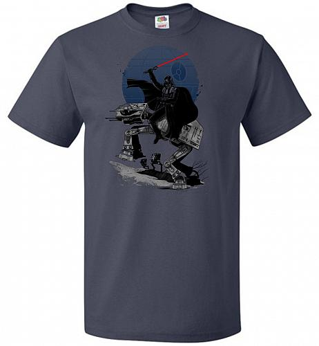 Crossing The Dark Path Unisex T-Shirt Pop Culture Graphic Tee (6XL/J Navy) Humor Funn