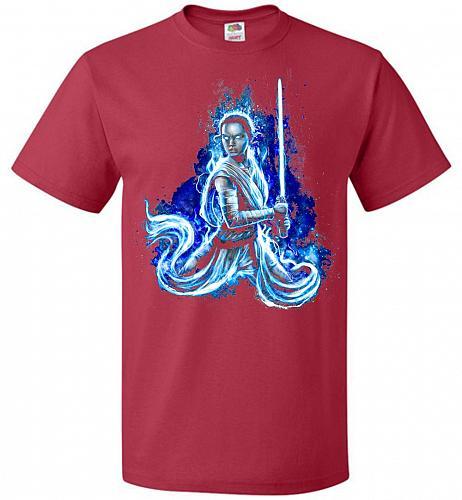 Awaken Unisex T-Shirt Pop Culture Graphic Tee (6XL/True Red) Humor Funny Nerdy Geeky