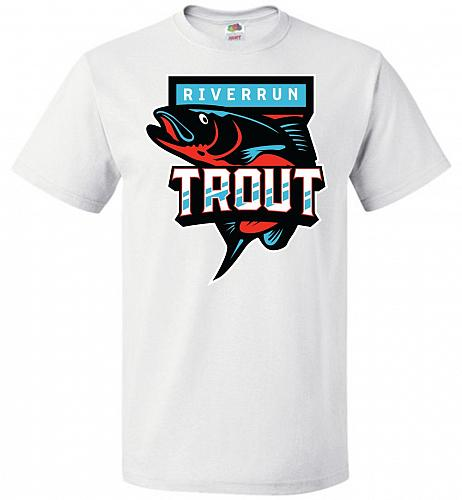 Game of Thrones Inspired Riverrun Trout Sports Parody Adult Unisex T-Shirt Pop Cultur