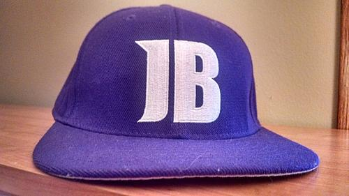 JB Justin Bieber ** Bieber Fever ** Flat Brim Purple Hat by The Fittie