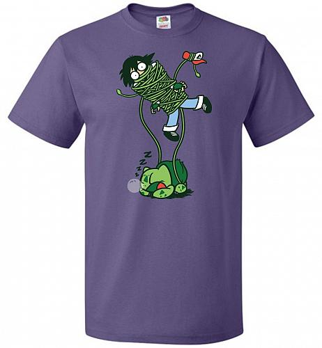 Whipped Unisex T-Shirt Pop Culture Graphic Tee (M/Purple) Humor Funny Nerdy Geeky Shi