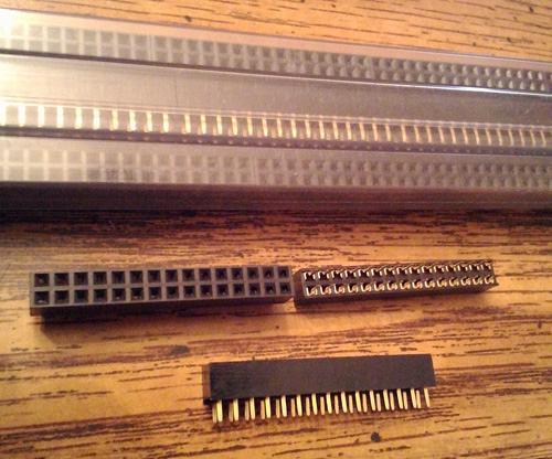 Lot of 80: Keltron 2RPC2-30S-G-F1 Receptacle PCB Socket :: FREE Shipping